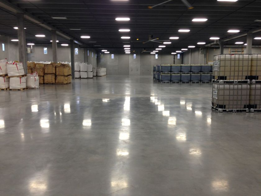 Primekss Ltd PrimxCompsite concrete floor for MicroSource Fertilzer warehouse photo 2